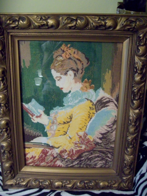 Gobelin Momichеto s knigata/Girl With Book