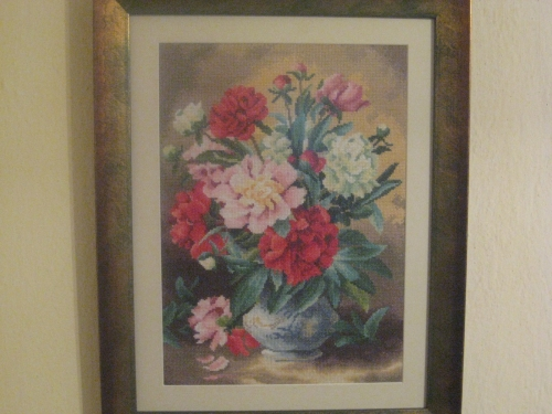 Gobelin Peonies queen of flowers