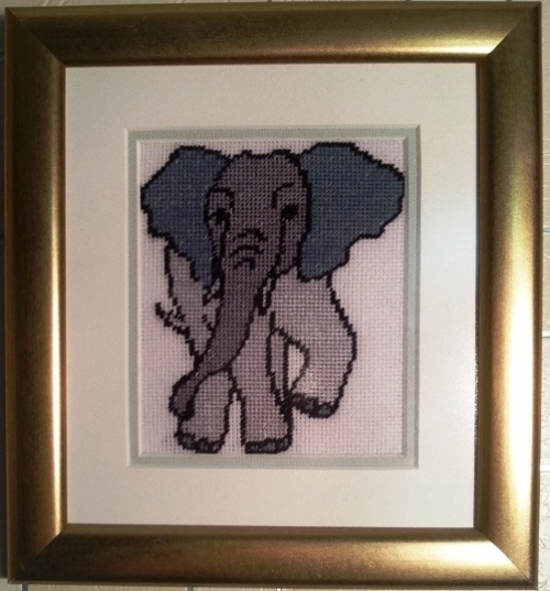 Gobelin elephant