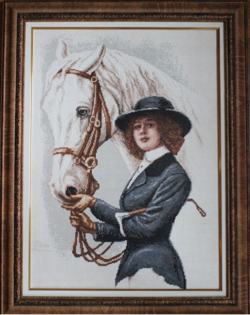 Gobelin The Horsewoman